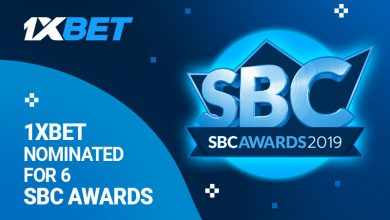 SBC awards 800x480 EN 390x220 - 1xBet Nominated for 6 SBC AWARDS