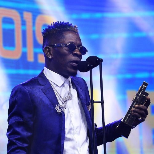 Shatta wale award 500x500 - My Award to Stonebwoy was Pure Love and for Business - Shatta Wale