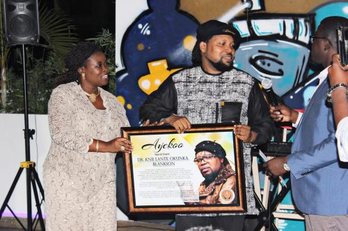 knii lante pic1 500x333 - Knii Lante Honored With Special Award