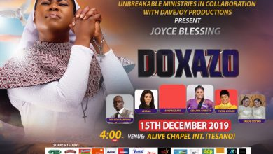 Joyce Blessing doxazo 1 390x220 - Joyce Blessing to Hold Doxazo 2019 on December 15th