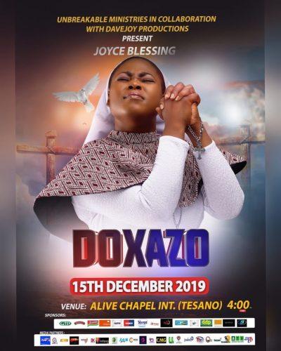 Joyce Blessing doxazo 2 400x500 - Joyce Blessing to Hold Doxazo 2019 on December 15th
