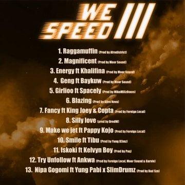 We Speed Track List - Magnom - We Speed 3 (Full Album)