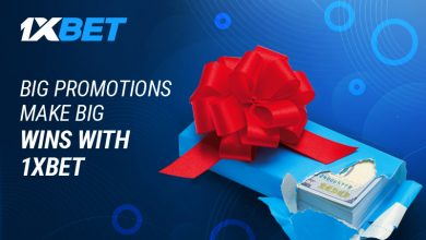 bonuses and promotions 800x480 2 390x220 - Big Promotions Make Big Wins At 1xBet