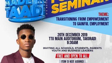kofi kinaata made in taadi seminar 390x220 - Kofi Kinaata organises Youth Seminar ahead of Made in Taadi Concert