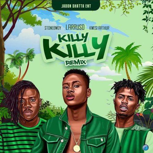 larruso stonebwoy 500x498 - Larruso ft. Stonebwoy & Kwesi Arthur - Killy Killy (Remix)