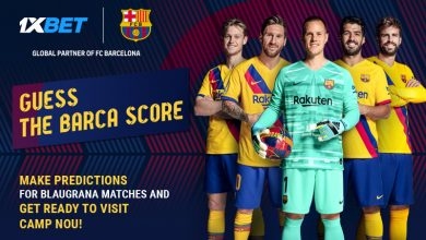 Guess Barca score 800x480 EN 390x220 - Guess the score of FC Barcelona's next match and get a chance to attend the game at Camp Nou!