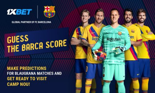 Guess Barca score 800x480 EN 500x300 - Guess the score of FC Barcelona's next match and get a chance to attend the game at Camp Nou!