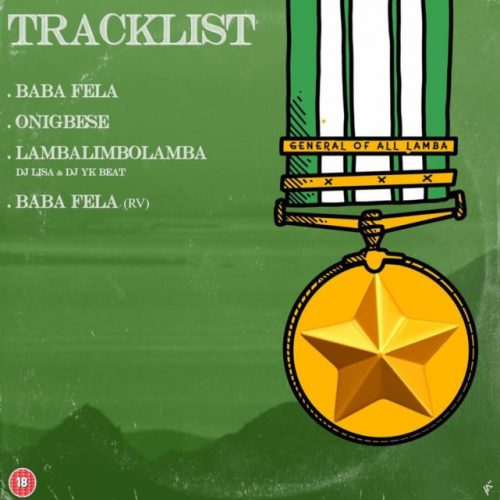 Tracklist 1 500x500 - Mr Real – General Of All Lamba (GOAL) EP