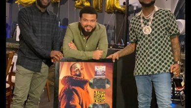 """Photo of Video: Davido goes Platinum with """"Blow My Mind, Risky"""" and """"A Good Time"""" Album"""