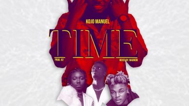 Kojo Manuel Time ft Quamina Mp Shaker Ginja 1 390x220 - Kojo Manuel ft Quamina MP, Shaker & Ginja - Time (Prod. by B2)