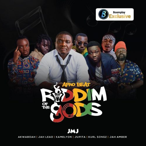 """ROG Afrobeats cover 500x500 - JMJ sets another record with 3rd album (Afrobeats) on """"Riddim Of The GODS"""" Project"""