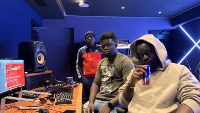 sarkodie mog red bull 1 390x220 - Sarkodie records with MOG Beatz & Possigee at the Red Bull Studios, UK