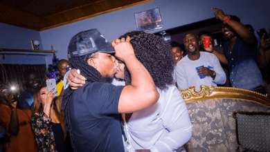 Edem and wife 390x220 - Edem's Wife celebrates 6th Marriage Anniversary with 'Erotic' Message