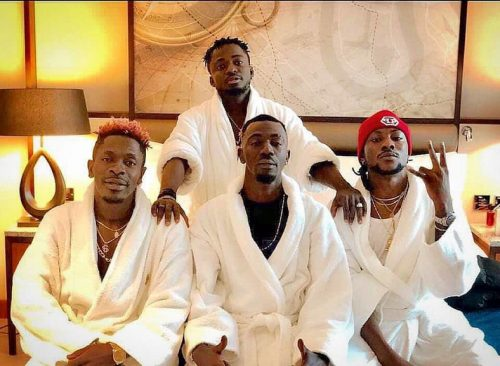 Shatta Wale and Militants 500x366 - Shatta Wale confirms Sacking SM Militants; Warns them to Stop Tarnishing His image