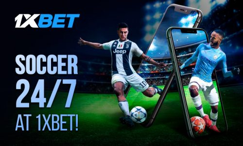 Soccer 24 7 800x480 500x300 - Keep Making Money Betting On Football At 1xBet!