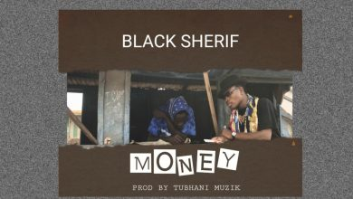 black sherif art 390x220 - Black Sherif - Money (Prod. by TubhaniMuzik)