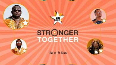 CJ Biggerman stronger 390x220 - Jumia - Stronger Together ft. Efya, CJ Biggerman, Yaa Pono, Feli Nuna, Ko-Jo Cue, Fancy Gadam, Pappy Kojo & Bosom P-Yung