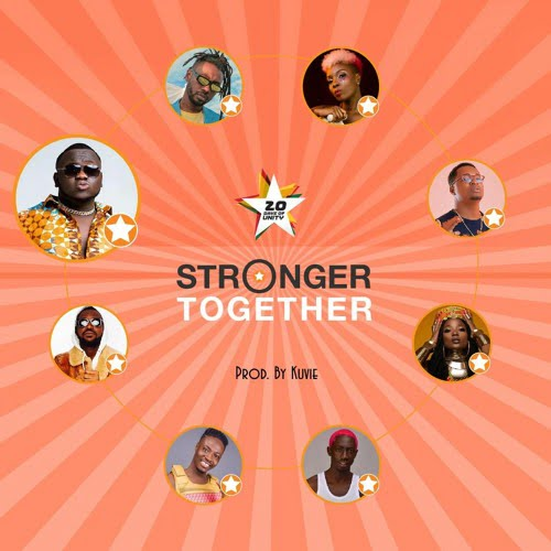 CJ Biggerman stronger - Jumia - Stronger Together ft. Efya, CJ Biggerman, Yaa Pono, Feli Nuna, Ko-Jo Cue, Fancy Gadam, Pappy Kojo & Bosom P-Yung