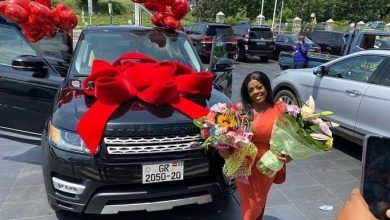 IMG DA56ECFCC9A9 1 390x220 - DVLA Confirms Nana Aba Anomoah's  Range Rover Number Plate Is Already In Use