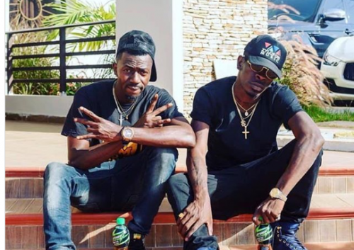 Joint 77 and Shatta Wale 500x353 - VIDEO : Shatta Wale Orders For The Collection Of His Car From Joint 77