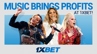 Music profits 800x480 3 390x220 - Your Music and Stars Knowledge Can Provide Big Wins at 1xBet