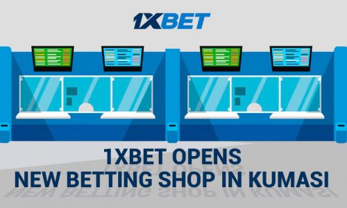 Ghana second betting shop 800x480 500x300 - 1xBet Opens New Betting Shop in Kumasi