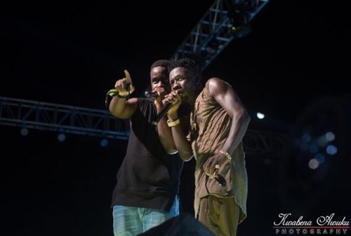 Sarkodie and Shatta Wale 500x337 - Shatta Wale Reconciles With Sarkodie