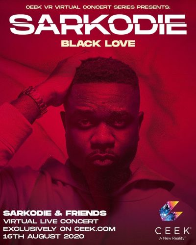 sarkodie king sark concert 2 400x500 - All You Need to Know about Sarkodie's 'Black Love' Virtual Concert