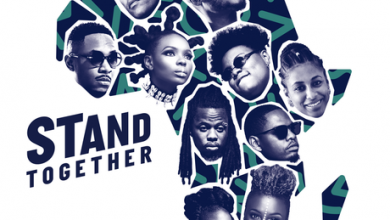 stand together 390x220 - 2Baba, Yemi Alade, Teni ,Ahmed Soultan, Amanda Black, Ben Pol & Betty G - Stand Together