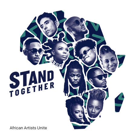 stand together - 2Baba, Yemi Alade, Teni ,Ahmed Soultan, Amanda Black, Ben Pol & Betty G - Stand Together