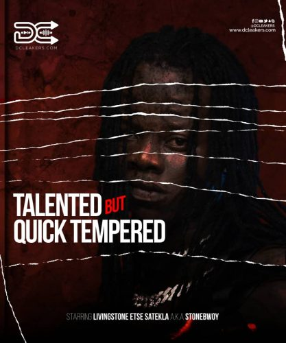 Stonebwoy Artwork 417x500 - Incidents Where Stonebwoy's Temper Flared-Up Publicly