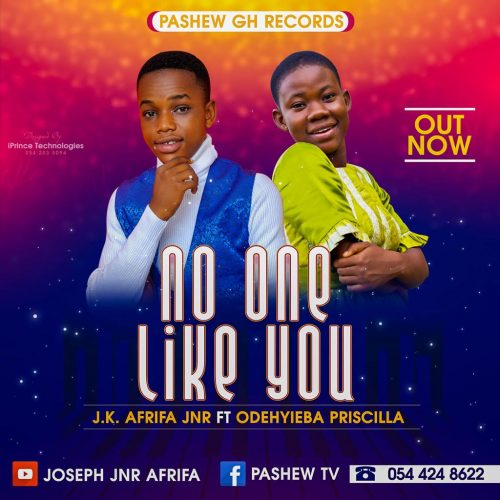 J.K Afrifa Jnr No One Like You 500x500 - Tekno - Puttin