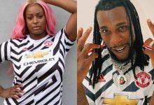 Photo of Burna Boy and DJ Cuppy become recipients of Man United's 'Original' Third Kit