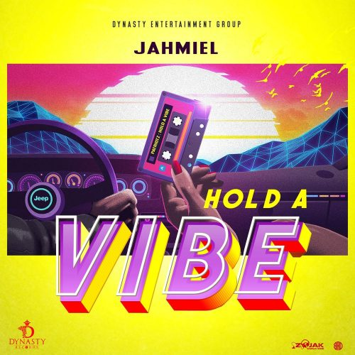 jahmiel hold art 500x500 - Jahmiel - Hold A Vibe