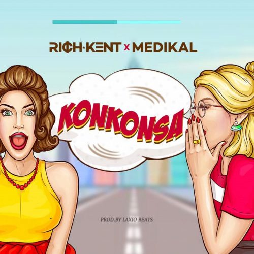 Konkonsa cover art 500x500 - Rich Kent - Konkonsa ft Medikal (Prod. by Laxio Beats)