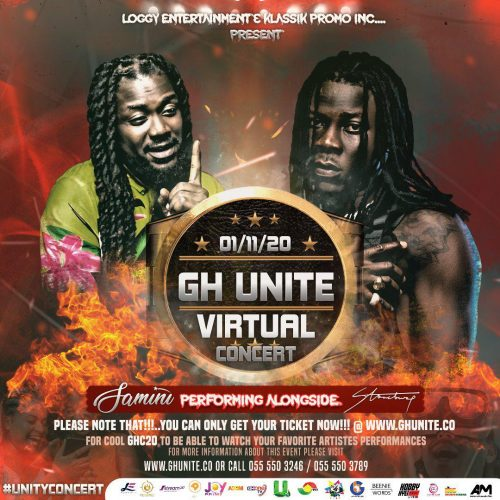 PHOTO 2020 10 19 15 52 16 500x500 - Stonebwoy & Samini to headline 'GhUnite Virtual Concert' With Kofi Kinaata & Kuami Eugene — November 1st