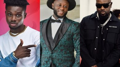 "kuami eugene dj mensah sarkodie 390x220 - DJ Mensah and Kuami Eugene taps Sarkodie for New Single ""Beifour"""