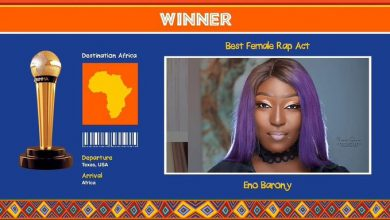 Eno Afrimma 390x220 - Eno Barony Wins Best Female Rap Act At Afrimma 2020