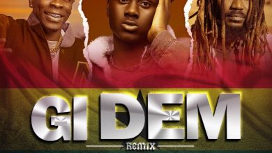 Larruso Gi Dem remix cover at 390x220 - Larruso - Gi Dem (Remix) ft Samini & Shatta Wale