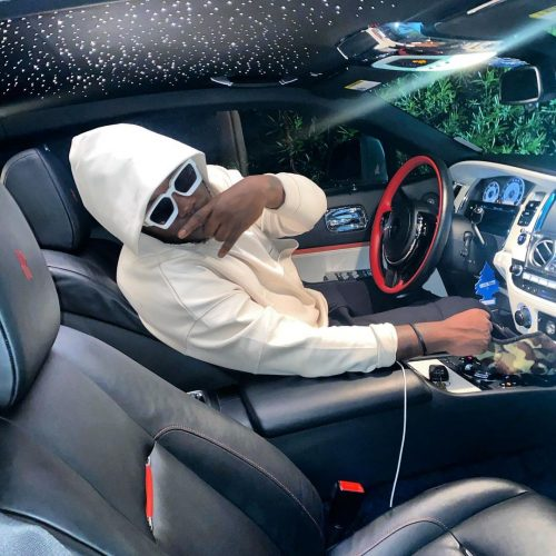 Medikal new car 500x500 - Video: Medikal acquires New 2021 Range Rover Autobiography