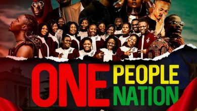 One People One Nation artwork 390x220 - Stonebwoy - One People - One Nation ft King Promise , Fancy Gadam, Fameye, Maccasio, Efya, Teephlow, DarkoVibes & Bethel Revival Choir