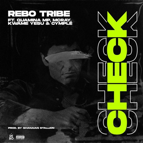 Rebo tribe check art 500x500 - Rebo Tribe - Check ft. Quamina MP, McRay, Kwame Yesu & Cymple