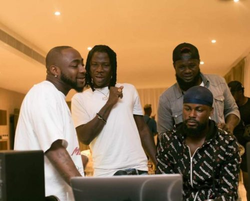 Stonebwoy ft davido 500x401 - Stonebwoy threatens Legal Action Over the Leak of His Song, 'Activate' featuring Davido