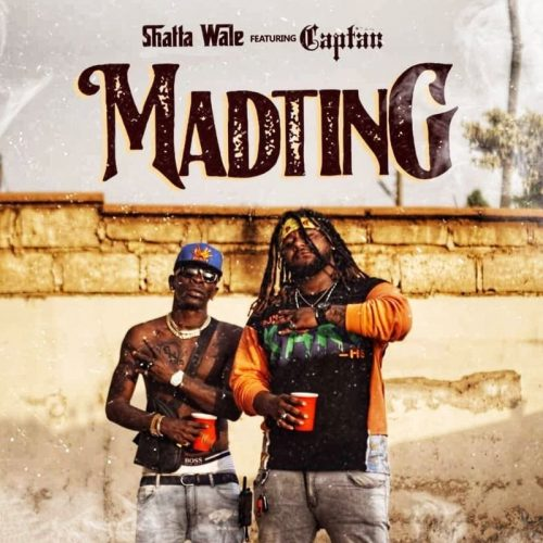 Shatta Wale Mad ting cover art 500x500 - Shatta Wale - Madtin ft Captan