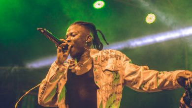 "Stonebwoy 5 390x220 - Photos : Stonebwoy, Donzy, Larruso, Talaat Yarky, MC Miguel, Abeiku Sarkcess and more support DJ Justice on ""The Justice Experience"" Event"