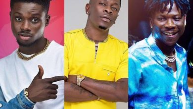 kuami shatta stone headies 390x220 - Shatta Wale, Stonebwoy and Kuami Eugene bags 'The Headies' Nomination