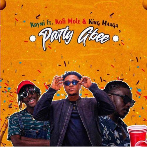 krymi party gbee 500x500 - Krymi- Party Gbee ft. Kofi Mole & King Maaga