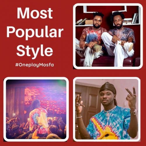 """most popular style 2 500x500 - Sarkodie, Wendy Shay, Joey B and others make Oneplay Africa """"Top 20 Most Fashionable Ghanaian Artists"""""""